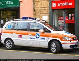 Finale Ligure Inaugurazione Ambulanza Croce Bianca