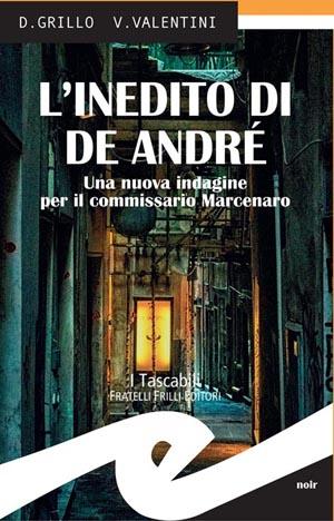 Copertina libro  L inedito di De Andre -