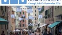 Nella foto. Logo e immagine del Festival della Comunicaziione.doc