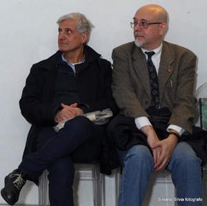 Paolo Scarsella con Giancarlo Passarella